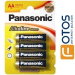 батарейка Panasonic АА LR06 Alkaline Power 4 шт