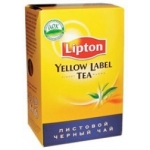 Чай Lipton Yellow Label листовой 100г