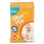 Подгузники Pampers Sleep&Play Junior 42шт/уп